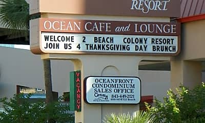 Community Signage, 5308 N Ocean Blvd, 1