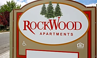 Community Signage, Rockwood Apartments, 2