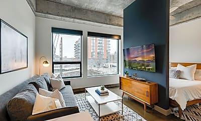 Living Room, 728 N 3rd St 203, 0