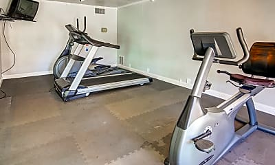 Fitness Weight Room, Sage Canyon, 1