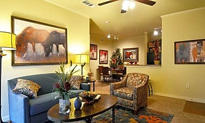 Living Room, Lodge at Guadalupe, 1