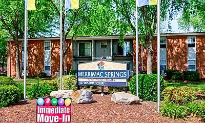 Community Signage, Merrimac Springs, 2