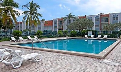 Pool, Park Plaza Apartments, 0