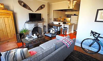 Living Room, 114 Appleton St, 1