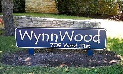 Community Signage, 709 W 21st St, 1
