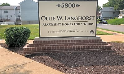 Ollie Langhorst Apartments, 1