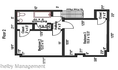 Bedroom, 344 E 18th Ave, 2