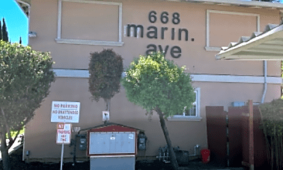 Community Signage, 668 Marin Ave, 1