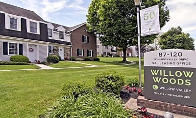 Community Signage, Willow Woods Apartments, 2