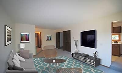 Living Room, Metropolitan Towers, 1