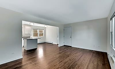 Living Room, 12 2nd St 3A, 1