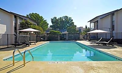 Pool, Quadrangle Apartments, 1