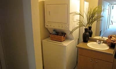 Bathroom, Sinclair Apartments, 2
