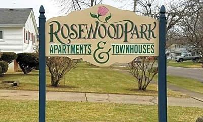Community Signage, Rosewood Park Apartments, 0