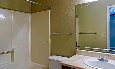 Bathroom, Hidden Lake, 2