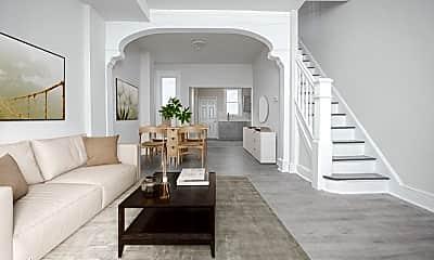 Living Room, 1233 W Huntingdon St, 1