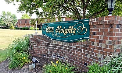Community Signage, Chili Heights, 0