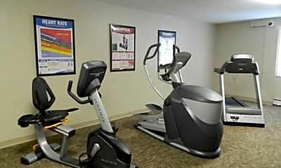 Fitness Weight Room, Southwood, 1