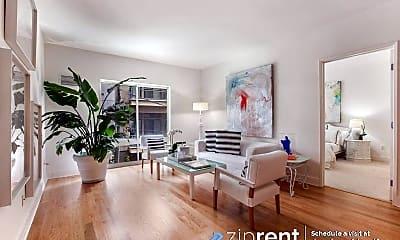 Living Room, 50 Lansing St, 302, 1