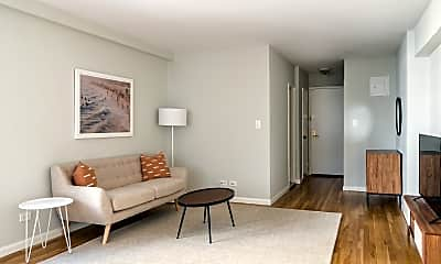 Living Room, 85 4th Ave 5-HH, 1
