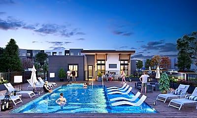 Pool, Velo Village Apartments, 0