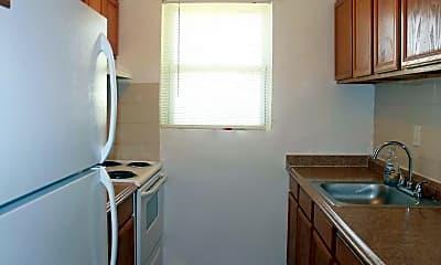 Kitchen, Cooperstown Apartments, 1