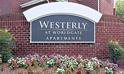 Community Signage, Westerly at Worldgate, 0