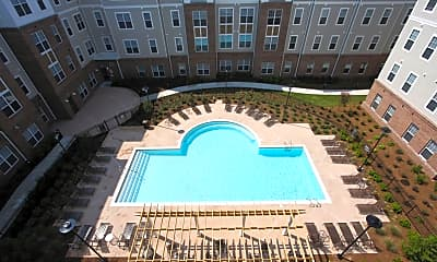 Pool, First Street Place Apartments, 2