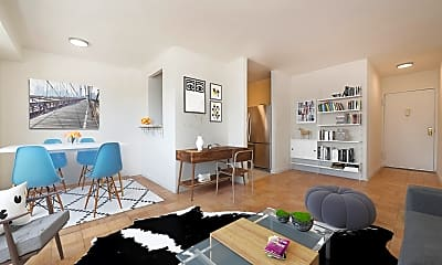 Living Room, 30 W 141st St 4-C, 1