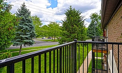 Patio / Deck, Parkside Court Apartments, 2