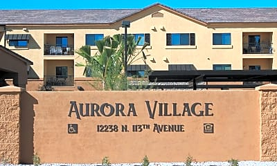 Community Signage, Aurora Village, 0