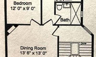 Kitchen, 3746 N Hermitage Ave, 1