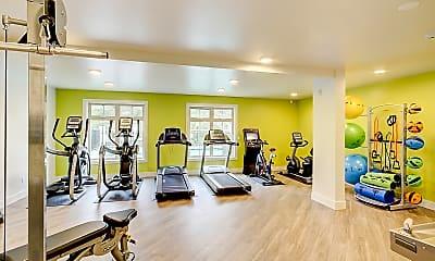 Fitness Weight Room, Park Highland, 2