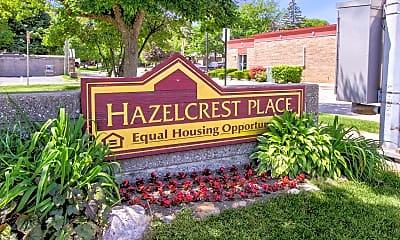 Community Signage, Hazelcrest Place Apartments, 2