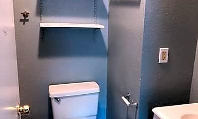 Bathroom, 1822 N Olive St 2, 2