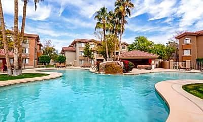 Pool, Palms on Scottsdale II, 1