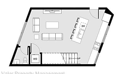 Living Room, 2603 Dove St, 2