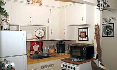 Kitchen, Englewood Apartments, 1