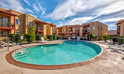 Pool, The Palms Apartments, 0