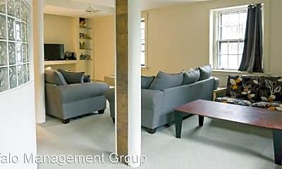 Living Room, 1149 Delaware Ave, 1