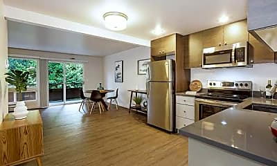Kitchen, Town And Country Apartments, 0