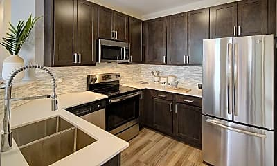Kitchen, City View at The Highlands, 0