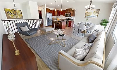 Dining Room, Journey Twin Homes, 0