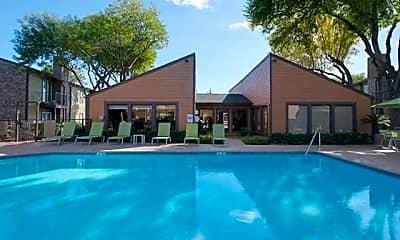 Pool, Wilcox Apartment Homes, 1