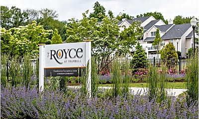 Community Signage, The Royce at Trumbull, 1