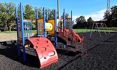 Playground, Blueberry and Edison Village, 2