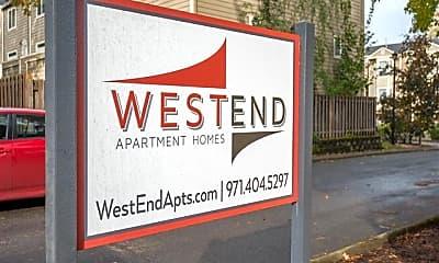 Community Signage, West End, 0