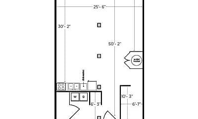 Bathroom, 209 Woodward St, 2