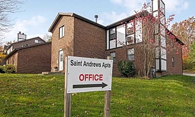 Community Signage, Saint Andrews Apartments, 2