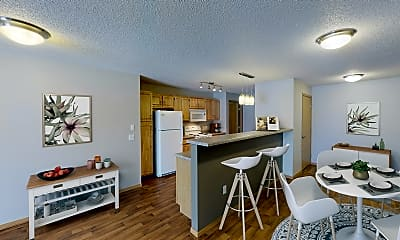 Dining Room, Grand Gateway Apartments, 0